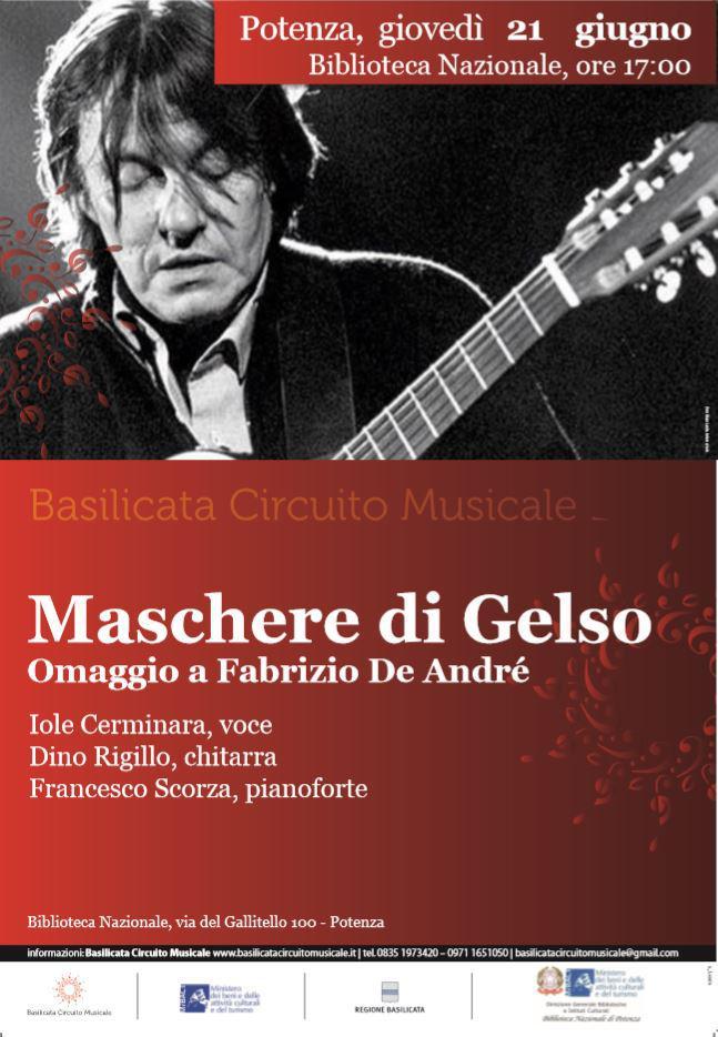 Maschere di Gelso - Omaggio a Fabrizio De Andrè